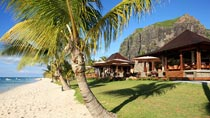 All Inclusive p&#229; hotell LUX Le Morne.