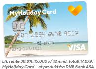 Søk om MyHoliday Card