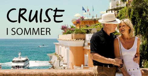 Reis på cruise sommer