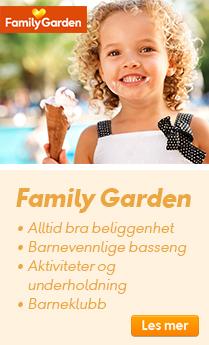 Barnevennlig på Family Garden