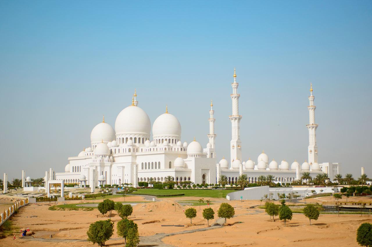 De forente arabiske emirater - Grand Mosque, Abu Dhabi
