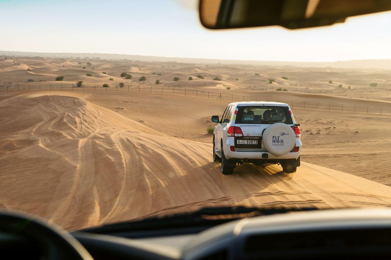 De forente arabiske emirater - Ørkensafari
