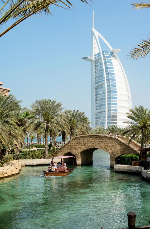 De forente arabiske emirater - Burj Al Arab, Jumeirah Beach