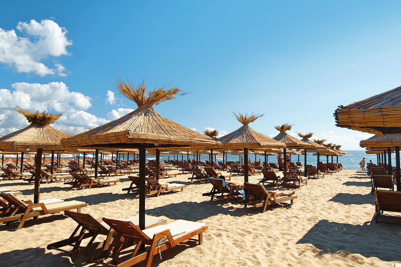 Bulgaria - Stranden i Golden Sands
