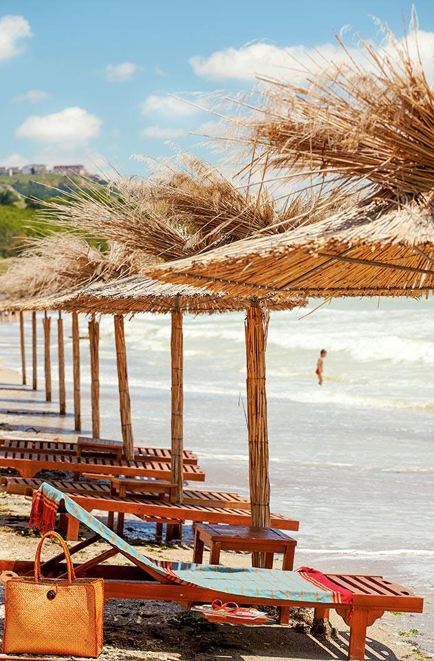 Bulgaria - Stranden i Balchik