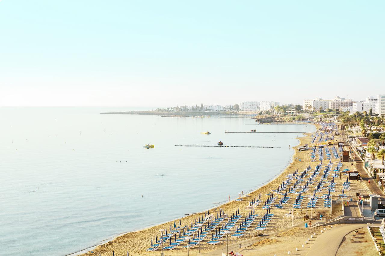 Kypros - Protaras Beach