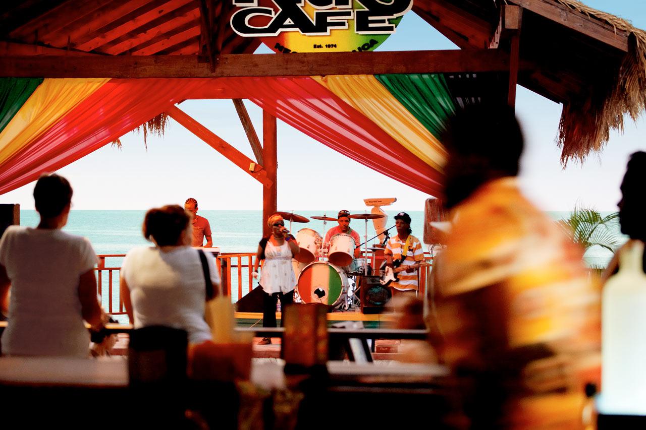 Jamaica - Rick's Cafe i Negril