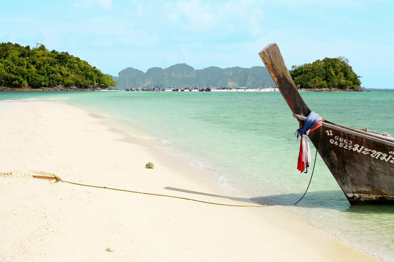Thailand - Fra Ao Nang kan du ta båt til Chicken Island