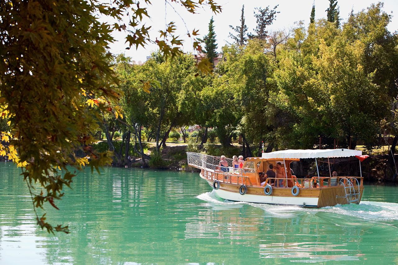 Tyrkia - Manavgat-elven