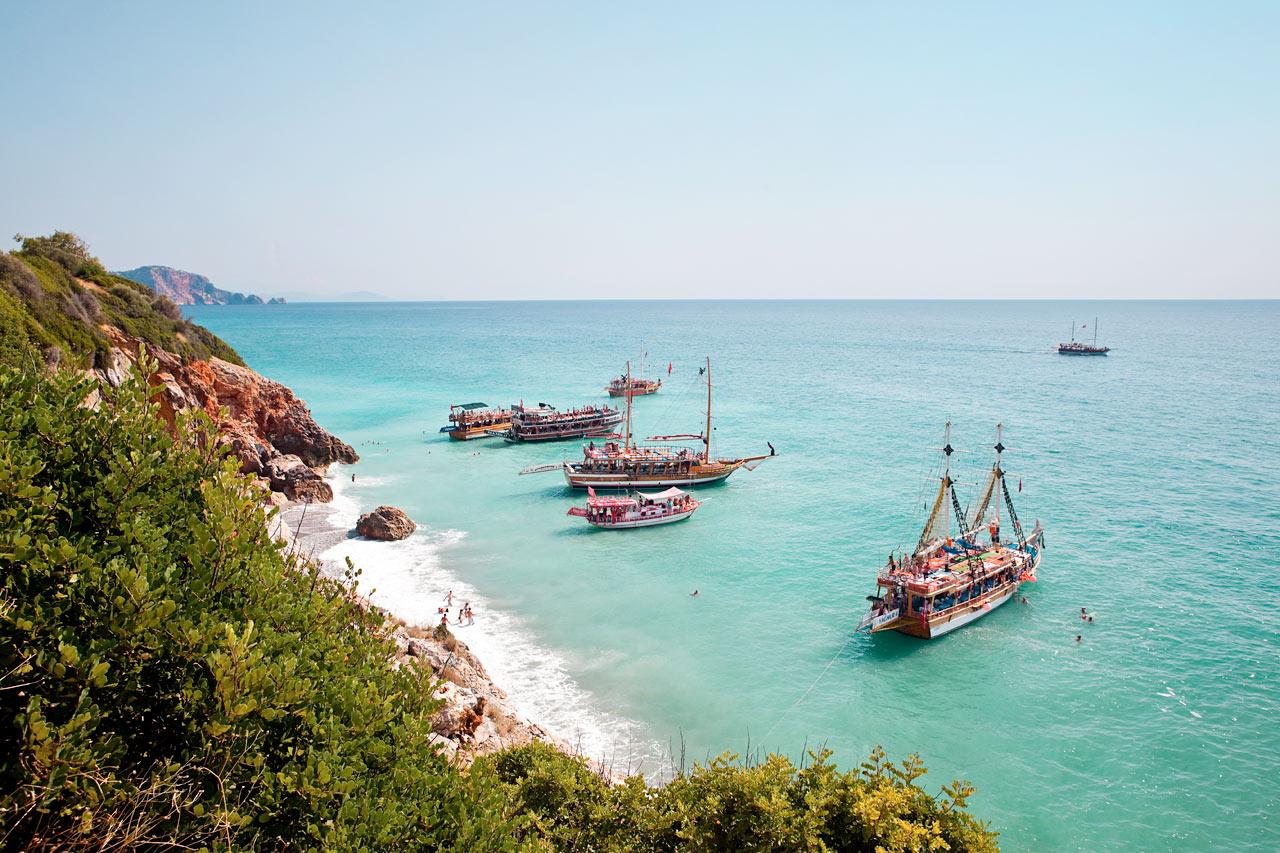 Tyrkia - Ulas Beach i Alanya