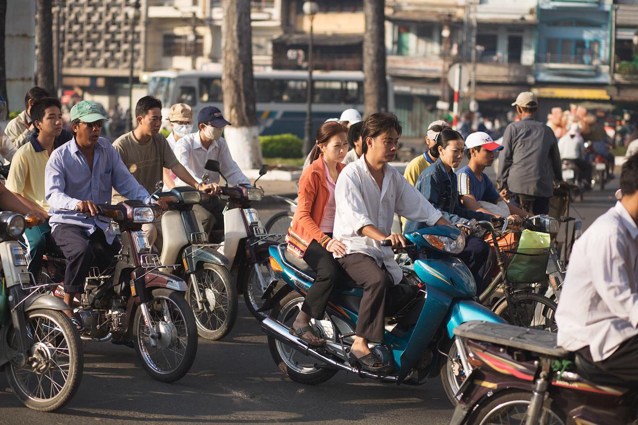 Vietnam - Saigon, (Ho Chi Min City), Vietnam.