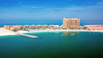 All Inclusive på hotell Doubletree By Hilton Marjan Island.