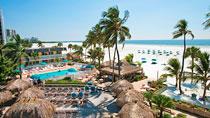 Outrigger Beach Resort er et av Vings nøye utvalgte hotell.