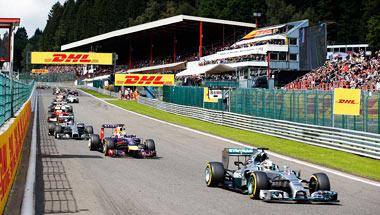 Formel 1 i Belgia