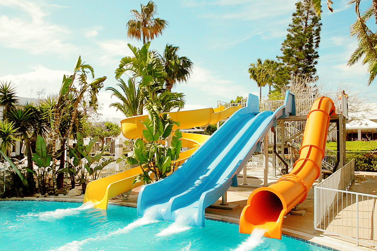 Sunwing Sandy Bay Beach - Vannsklier i Fun Pool.