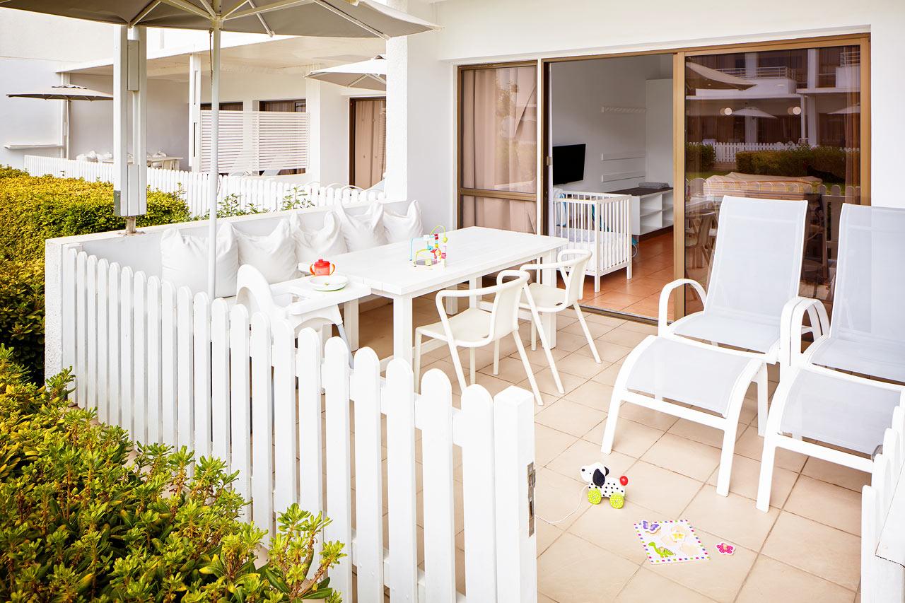 Sunwing Sandy Bay Beach - 1-romsleilighet Happy Baby med terrasse mot hagen