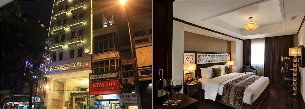 Golden Lotus Luxury Hotel, Hanoi, Vietnam