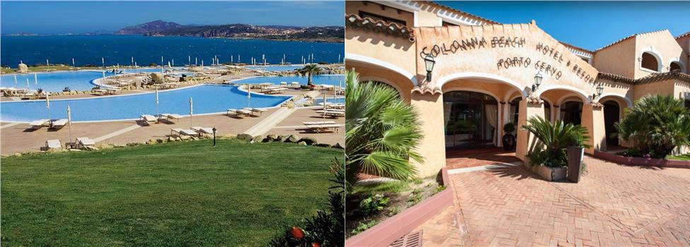 Colonna Resort, Costa Smeralda, Sardinia, Italia