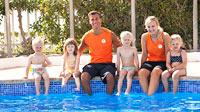 Svømmeskole på Sunwing