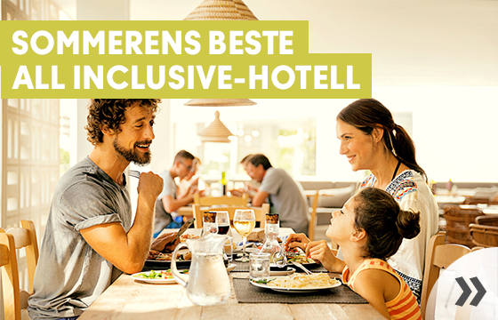 Sommerens beste All Inclusive-hotell