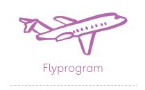 Flyprogram fra alle avreiseflyplasser til alle reisemål