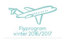 Flyprogram vinter 2016/2017