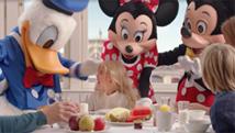 Frokost med Disneyfigurene