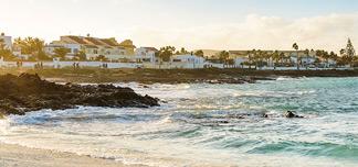 Fuerteventura i vinter