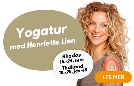 yogatur med Henriette Lien til Rhodos og Thailand