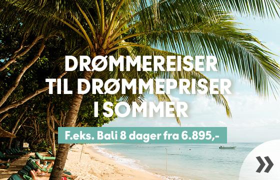 Drømmereiser til drømmepriser i sommer