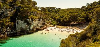 Fleksible reiser til Menorca