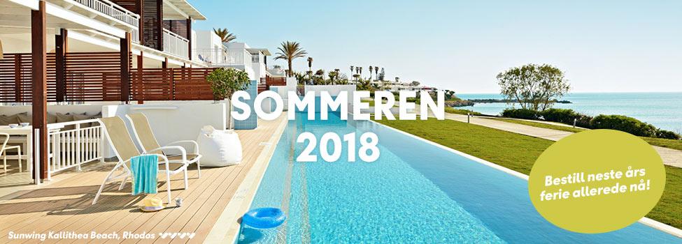 Bestill reise i sommer