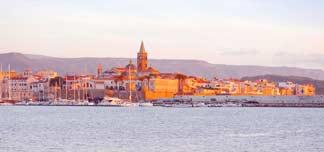Fleksible reiser til Sardinia