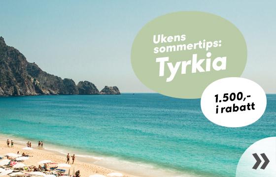 Ukens sommertips: Tyrkia
