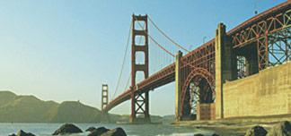 San Fransisco i vinter