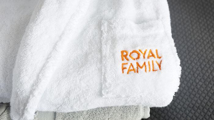 Bestill Royal komfortpakke