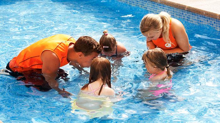 Svømmeskole nivå 1, fra 4 år